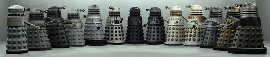 Every dalek drone ever by librarian bot-d5fqdkr