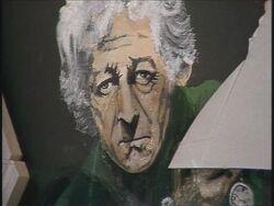 Retrato Tercer Doctor