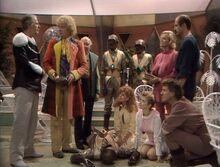 Sexto Doctor investiga un misterioso asesinato