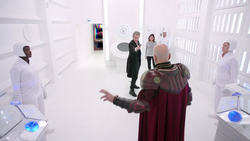 Hell Bent - El Doctor amenaza al General