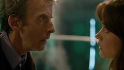 The Time of the Doctor - Clara ante el nuevo Doctor
