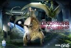 Cult doctor who dinosaurs spaceship poster 1