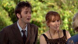 TUATW - El Doctor y Donna conociendo a Agatha Christie