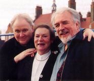 Maggie Stables Colin Baker Nicholas Courtney