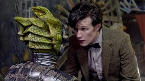 A Silurian Unmasked The Hungry Earth Doctor Who