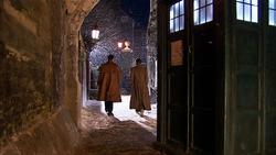 The Next Doctor - Lake y el Doctor se van de la TARDIS