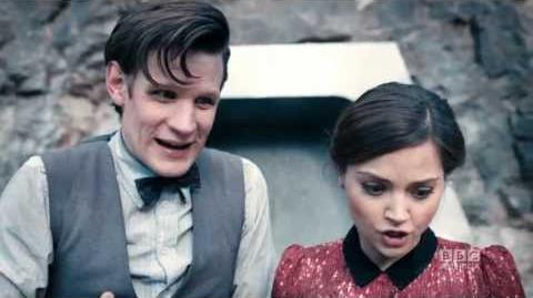 "DOCTOR WHO Who are you, Clara? ""Journey to the Centre of the TARDIS"" BBC AMERICA"