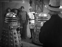 Negociando con rehenes - The Daleks' Master Plan