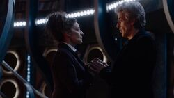 The Eaters of Light - Missy y el Doctor hablan