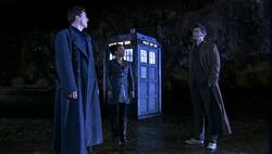 Utopia - El Doctor y Martha con Jack