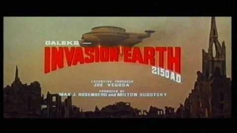 Daleks' Invasion Earth 2150 A.D. Cinema Trailer