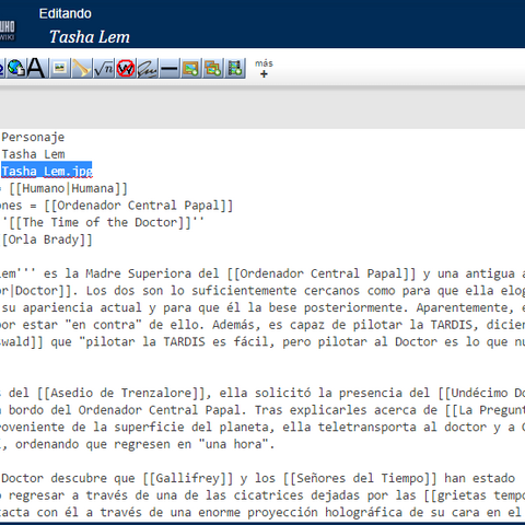 Añadiendo el nombre del archivo al infobox.