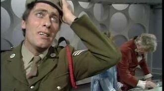 Benton Meets the Tardis - Doctor Who - The Three Doctors