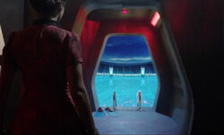 TARDIS swimming pool Journey