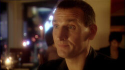 Ninth Doctor dines with Blon