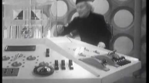 The Tardis takes off for first time - Doctor Who - An Unearthly Child - BBC-0