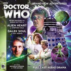 Bfpdwcd224 alien heart dalek soul cd dps1 cover