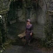 Tigan in Cloister Room