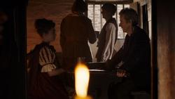 The Woman Who Lived - Ashildr y el Doctor en un bar