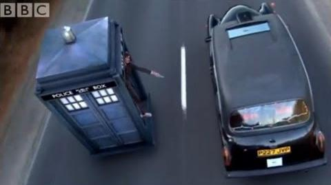 Chasing a Taxi in the Tardis - Doctor Who - The Runaway Bride