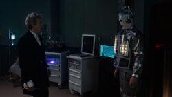 El Duodécimo Doctor se encuentra a cyber-Bill