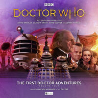 The First Doctor Adventures- Volume Four
