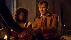 The Next Doctor - Lake viendo el reloj