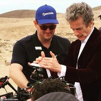 Series9-filming-petercapaldi