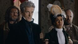 The Doctor and Bill are captured (Thin Ice)