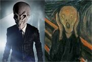Doctor who the silence looks like the scream