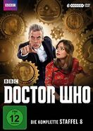 Doctor Who Staffel 8 DVD-Cover
