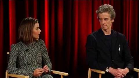 Jenna Coleman & Peter Capaldi- Doctor Who Series 9 Interview