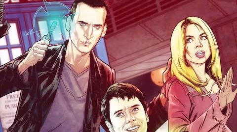 Cavan Scott Introduces the Ninth Doctor Comic Series - Doctor Who