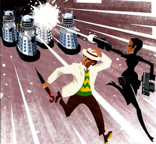 Enemy Of The Daleks Preview Comic
