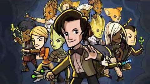 Doctor Who Worlds in Time Online Trailer