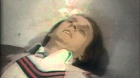 Fifth Doctor regenerates - Peter Davison to Colin Baker - BBC