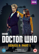 Doctor Who Series 9 Part 1 DVD