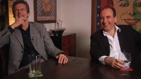 30- In The Loop, director Armando Iannucci, actor Peter Capaldi