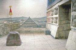 Azteken tempel
