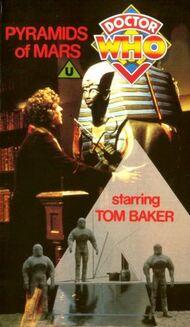 BBC VHS Pyramids of Mars 1985