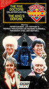 The Five Doctors & The King's Demons 1997 VHS US