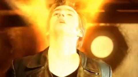 Ninth Doctor regenerates - Christoper Eccleston to David Tennant - Doctor Who - BBC-0