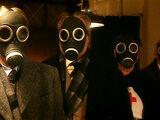 Gasmasken-Zombies