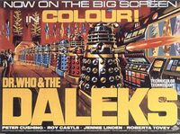Dr. Who and the Daleks poster