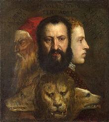Titian - Allegorie der Zeit