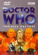 The five doctors DVD original cvr