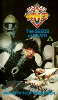 BBC VHS The Seeds of Death UK