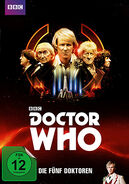 The Five Doctors DT DVD Cover