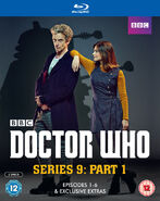 Doctor Who Series 9 Part 1 Blu-Ray