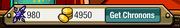 Player menu-currency